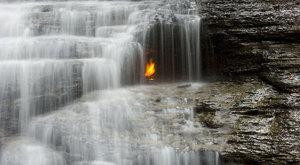 Podivuhodná místa: Vodopády věčného ohně
