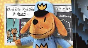 Soutěž s ABC o komiks a plyšáka Dogmana