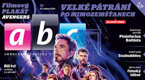 Nové číslo časopisu ABC 9/2019: Avengers