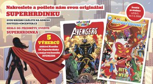 Soutěž s Nedělníčkem o super superhrdinské komiksy Avengers a DC Superhrdinky