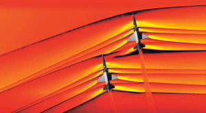 Nadzvuková vlna: NASA vyfotila aerodynamický třesk