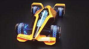 F1 v roce 2050: Grand Prix budoucnosti