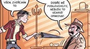 Komiks s rozumem 11: Jak se kreslí komiks - úhel pohledu