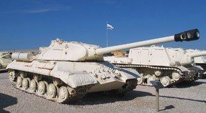 Sovětský tank IS-3: Odrážeč střel