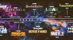 Marvel Fáze 4: Všechny chystané filmy a seriály