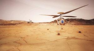 Skaut z Marsu: Vrtulník pro mimozemské lety