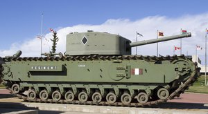 Britský tank Churchill: zastaralá krabice