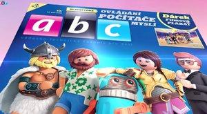 Nové číslo časopisu ABC 19/2019 s Playmobilem