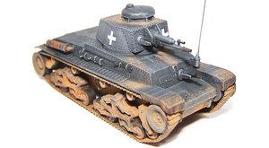 Plastikové modely 9: Tank Lt.35(t)