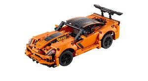 Lego Technic Chevrolet Corvette ZR1: Postav si krále silnic
