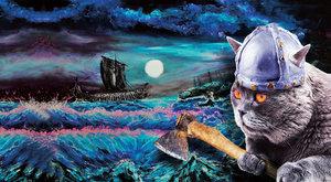 Mňoukající nájezdníci: Kočky na vikinských lodích