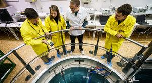 VR-1 Vrabec: Návštěva atomového reaktoru v pražské Libni