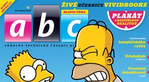 Simpsonovi navždy a česká rozšířená realita v novém číslu ABC