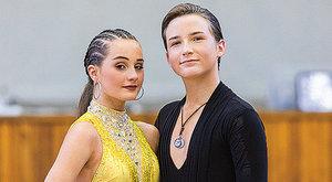 Linda Ondrušová a Matyáš Grossmann