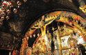 Kristova hrobka a kopule, která ji osvěcuje