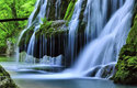 Vodopád Bigar v Rumunsku