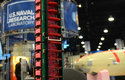Zásobník na robotické cikády (dole) pro svržení z letadla