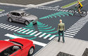 Auta bez řidiče se učí dávat pozor na chodce, kteří mohou nečekaně vstoupit do silnice