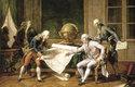 Ludvík XVI. dává poslední instrukce kapitánu La Pérousovi