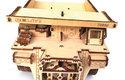 Belaz 75600 je velmi povedená dřevěná stavebnice i pro nezkušené modeláře