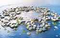 Bydlení budoucnosti na moři v kolonii Oceanix