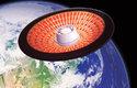 Při průletu atmosférou dochází k tření, které vyvolává vysoké teplot