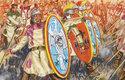 Pozdně římské legie byly v době hunské invaze již z většiny tvořeny barbarskými žoldnéři