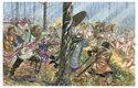 Burgundi jako spojenci Říma hlídali hranice římského impéria před nájezdy Alemanů