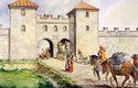 Hlavní ze čtyř bran legionářského tábora na hranici Římské říše nesla název Porta Praetoria