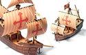 Santa Maria, Niňa a Pinta: Kolumbova flotila vystřihovánek je kompletní