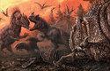 Pravěcí kanibalové: Takhle to mohlo vypadat před 150 miliony lety v Coloradu, kde se až devítimetroví a dvě tuny těžcí dinosauři allosauři požírali navzájem