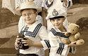 Muzeum Fotoatelier Seidel: Moderní snímek s dobovými kostýmy a barvami