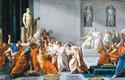 Julia Caesara senátoři ubodali dýkami