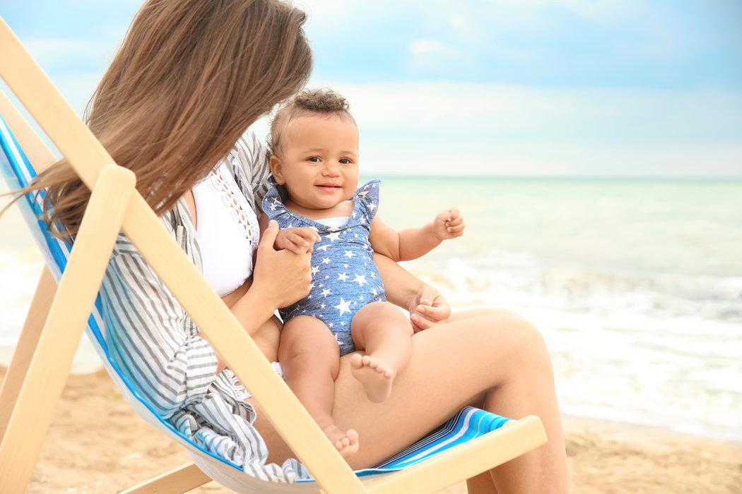 Ideálny čas na dovolenku pri mori s malým drobcom je máj, jún alebo september.