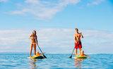 Paddleboarding - zábava pre celú rodinu