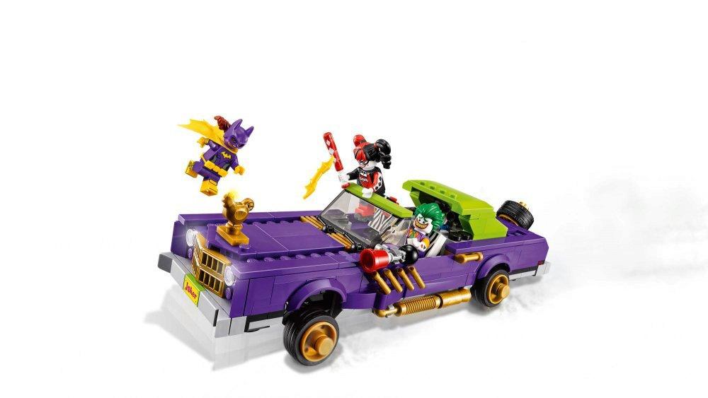 LEGO® Joker a jeho vůz Notorious Lowrider