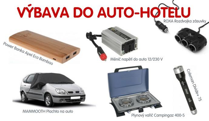 Než vyrazíte na delší cestu, pořiďte si měnič napětí a rozdvojku do auta. Můžete si po cestě nabíjet elektroniku.