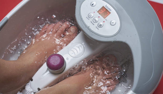 Chcete-li, můžete si dopřát vibrační i perličkovou masáž současně.