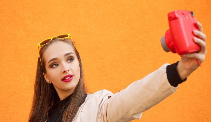 S Instax se dají pořídit také stylová selfíčka.