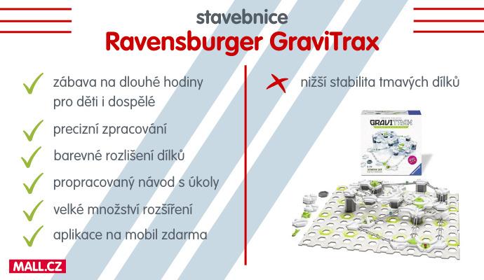 GraviTrax doporučujeme všem milovníkům stavebnic a kreativní zábavy.