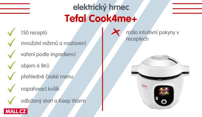 elektrický hrnec Tefal Cook4me+