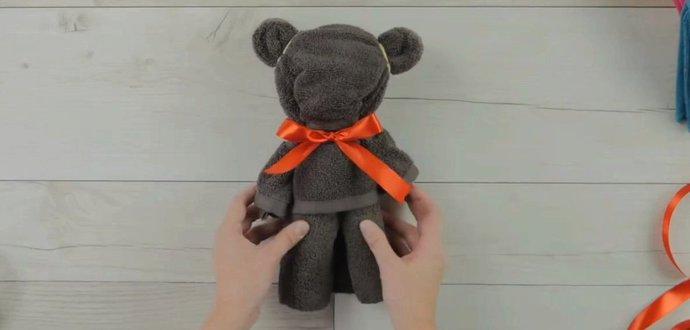 VIDEO: Vyrobte dětem roztomilého medvídka
