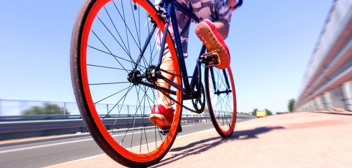 Nejčastější chyby při jízdě na kole