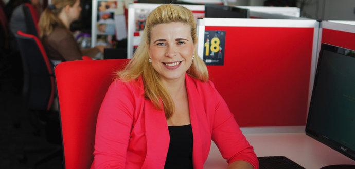 Pro nastartování kariéry je důležité mít zápal pro práci, říká Lucie Krybusová, trenérka zákaznického centra