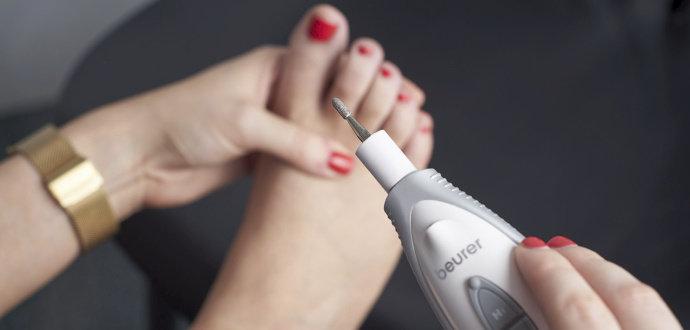 Recenze elektrické manikúry Beurer MP 41: za hodinu na gauči nehty jako ze salónu