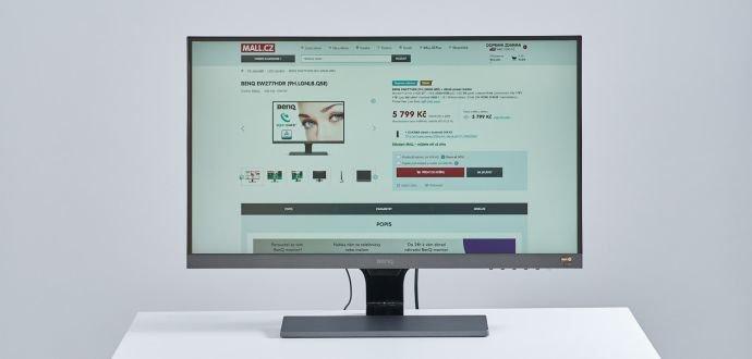 Recenze monitoru BenQ: příjemná podívaná i po osmi hodinách práce