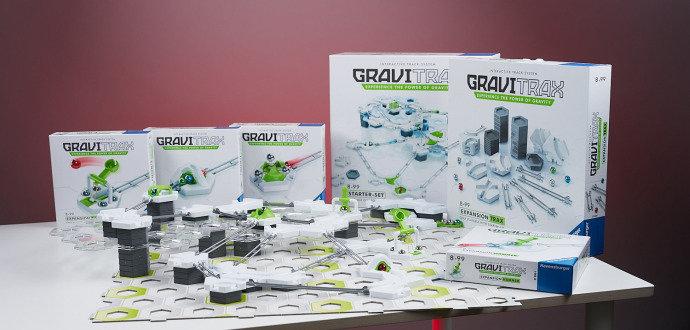 Recenze stavebnice GraviTrax: návyková kuličkodráha pro děti i dospělé