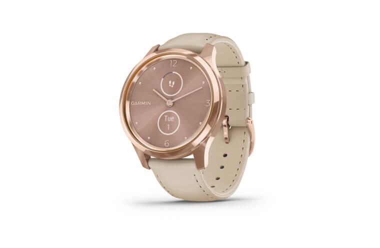 Multifunkční chytré hodinky Garmin vívomove3 Luxe Rose Gold
