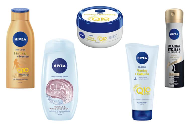 Balíček kosmetiky NIVEA