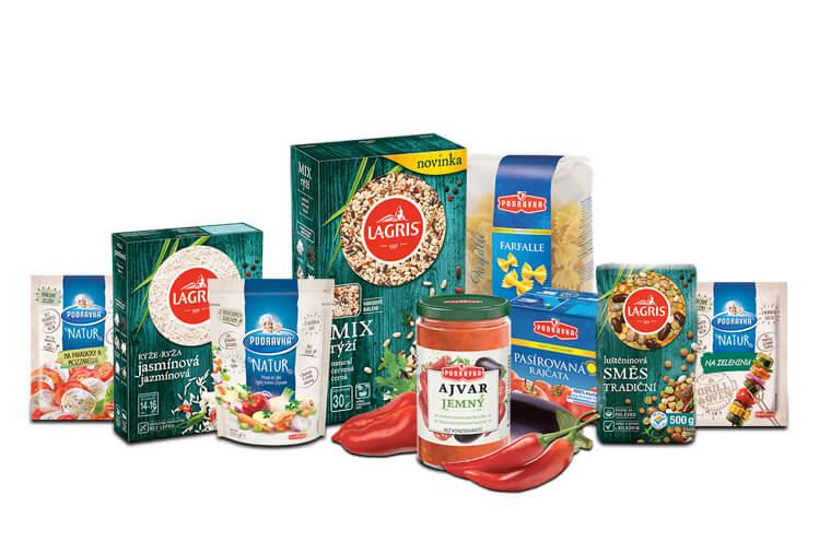 Bohatý balíček s výrobky Podravka a Lagris